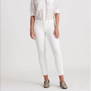 Take 30% off Lucky Brand White Lolita Skinny Jeans